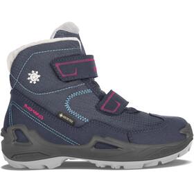 Lowa Milo GTX Mid Shoes Kids, blauw